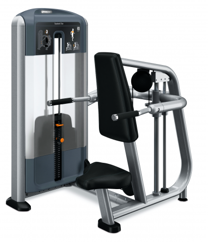 Precor Seated Dip