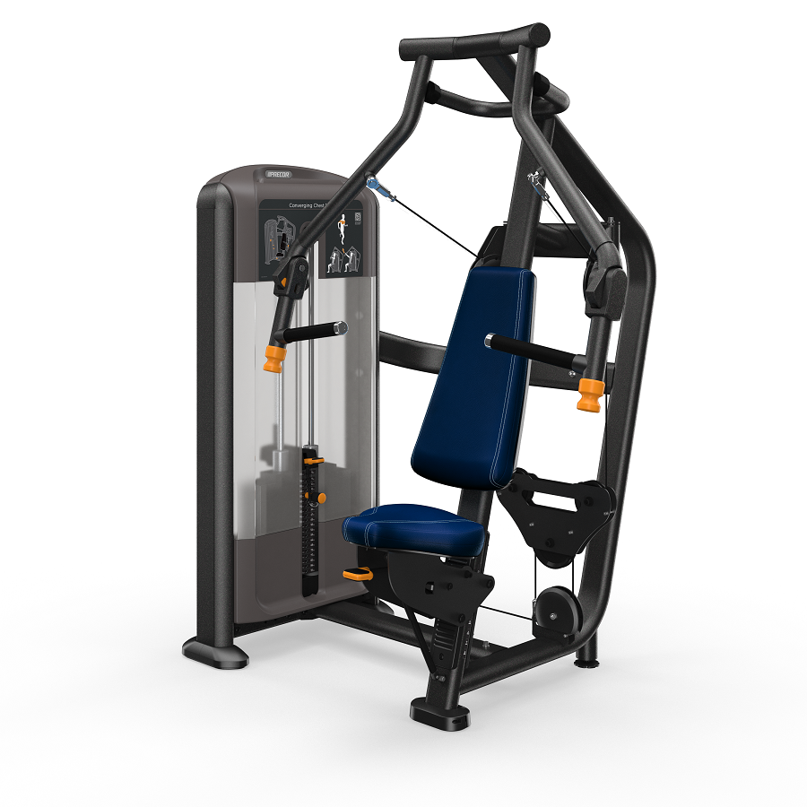 Precor Converging Chest Press Black Pearl