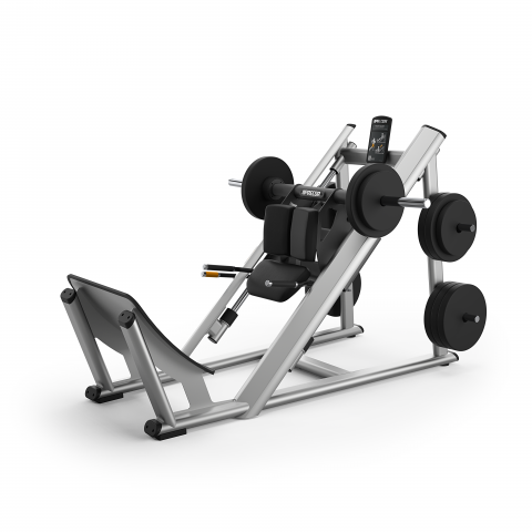 Precor Plate-Loaded Hack Squat